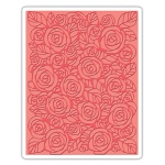 Sizzix - Texture Fades Embossing Folder - Roses by Tim Holtz