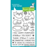 Lawn Fawn - Meow You Doin Stamp Set