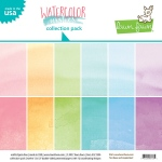 Lawn Fawn - Lawn Fawndamentals - Watercolor Wishes - 12x12 Collection Pack