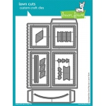 Lawn Fawn - Lawn Cuts - Scalloped Box Card Pop-Up Dies