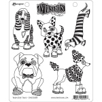 Ranger - Dyan Reaveley - Dylusions - Cling Stamps - Puppy Dog Tales