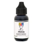 Ranger - Dina Wakley Media - 1 oz - Black Gesso