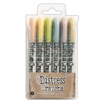 Ranger - Tim Holtz - Distress - Crayons Set #8