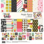 Simple Stories - Carpe Diem - Emoji Love - Collection Kit