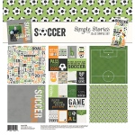 Simple Stories - Sports - Soccer Simple Set - Collection Kit