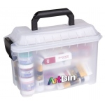 "Artbin® Mini Sidekick : Clear, Plastic, 11""l x 5 1/2""w x 7""h, (model 6815AG), price per each"