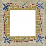 Blue Hills Studio™ Make Your Own Mosaic Mirror: Multi, Stone (Cuttable), Mirror