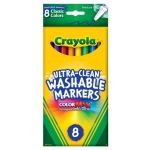 Crayola® Classic Marker Fine Line 8-Color Set: Multi, Washable, (model 58-7809), price per set