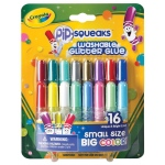 Crayola® Pip-Squeaks® Washable Glitter Glue 16-Color Set: Multi, Glitter, (model 69-4200), price per pack