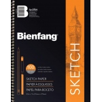"Bienfang® Take Me Along™ 11"" x 14"" Sketch Book: Book, 100 Sheets, 11"" x 14"", Medium, 50 lb, (model 601SD-130), price per each"
