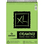 "Canson® XL® 11"" x 14"" Drawing Pad (Top Wire): Wire Bound, White/Ivory, Pad, 60 Sheets, 11"" x 14"", Smooth, (model C100510937), price per 60 Sheets pad"