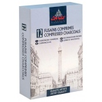 Conte™ Compressed Charcoal Assorted: Stick, (model C2230), price per set