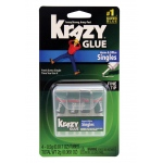Elmer's® Instant Krazy Glue® Glue Single-Use Tubes: Tube, (model KG820), price per pack