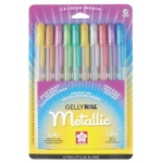 Gelly Roll® Metallic Gel Pen 10-Pack: Metallic, Multi, Gel, 1mm, (model 57370), price per pack