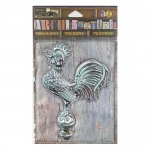 7Gypsies - Architextures - Treasures - Weathered Metal Rooster