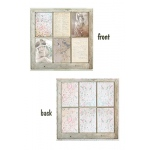 7Gypsies - Architextures - 12x12 Paper - Old Window - 15 Pack