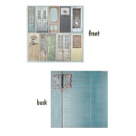 7Gypsies - Architextures - 12x12 Paper - Painted Doors - 15 Pack