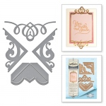 Spellbinders - Card Creator - Graceful Corners One Dies