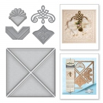 Spellbinders - Card Creator - Graceful 6 x 6 Frame Maker Dies