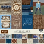 Authentique - Rugged - Collection Kit 12x12