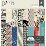 Authentique - Dapper - 12x12 Paper Pad