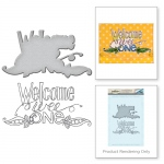 Spellbinders - Welcome Wee One Stamp & Die Set