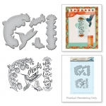 Spellbinders - Hummingbird Stamp & Die Set