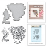 Spellbinders - Teacup Stamp & Die Set