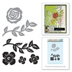 Spellbinders - Floral Set Stamp & Die Set
