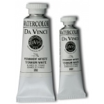Da Vinci Artists' Watercolor Paint 37ml Titanium White: White/Ivory, Tube, 37 ml, Watercolor, (model DAV282), price per tube