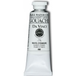 Da Vinci Artists' Gouache Opaque Watercolor Titanium White 150ml: White/Ivory, Tube, 150 ml, Gouache, Watercolor, (model DAV490L), price per tube