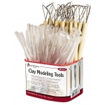 Heritage Arts™ Double-Ended Clay Tool Assortment: Clay Tool, (model CW09981), price per each
