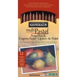 General Pastel Pencil 12-Color Set