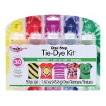 Tulip® One-Step Dye™ Rainbow Tie-Dye Kit for 20 Shirts: 20 Shirts, Multi, Bottle, Tie Dye, (model D26504), price per kit