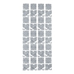 "Blue Hills Studio™ DesignLines™ Outline Stickers Silver #22: Metallic, 4"" x 9"", Outline, (model BHS-DL022), price per pack"