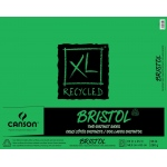 "Canson® XL® 19"" x 24"" Recycled Bristol Pad (Fold Over): Fold Over, White/Ivory, Pad, 25 Sheets, 19"" x 24"", Smooth, Vellum"