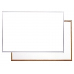 "Ghent® Acrylate White Markerboard 36.5"" x 48.5"" Aluminum Frame: 36"" x 48"", Dry Erase, (model M2-34-0), price per each"