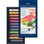 Faber-Castell Creative Studio Soft Pastel: Cardboard Box of 12