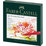 Faber-Castell PITT Artist Pen: Studio Box with 12 Colors