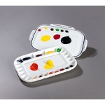Mijello Dual Airtight Peel-Off Palette for Acrylic/Oil: Model # 92-AP3025
