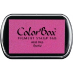 ColorBox® Full Size Ink Pad Orchid: Red/Pink, Pad, Pigment, Full Size Rectangle, (model CS15034), price per each