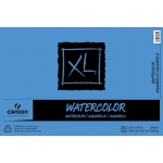 "Canson® XL® 12"" x 18"" Cold Press Watercolor Pad (Fold Over): Fold Over, White/Ivory, Pad, 30 Sheets, 12"" x 18"", Cold Press, (model C100510943), price per 30 Sheets pad"