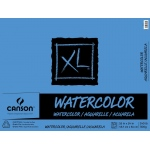 "Canson® XL® 18"" x 24"" Cold Press Watercolor Pad (Fold Over): Fold Over, White/Ivory, Pad, 30 Sheets, 18"" x 24"", Cold Press"