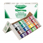 Crayola® Classic Marker 200 Piece Set: Multi, (model BAS200), price per each