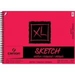 "Canson® XL® 18"" x 24"" Sketch Pad (Side Wire): Wire Bound, White/Ivory, Pad, 50 Sheets, 18"" x 24"", Medium"