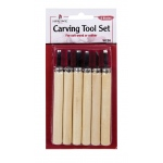 Heritage Arts™ Carving Tool 6-Piece Set: 6-Pack, (model WCS6), price per set
