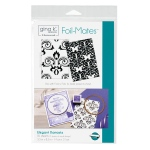 Thermoweb - Gina K Designs - Foil-Mates Background Elegant Damasks 5.5 in x 8.5 in
