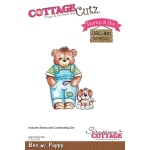 CottageCutz - Ben with Puppy Stamp & Die Set