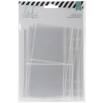 American Crafts - Heidi Swapp - Memory Planner - Binder Page Protectors 12pk - Clear Assorted