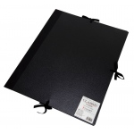 "Cachet® 14"" x 18"" Classic Portfolio: Black/Gray, Fiberboard, Paper, 14"" x 18"", (model CS471301418), price per each"